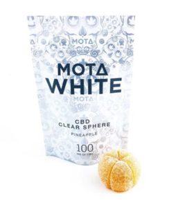 Mota - Clear Sphere White CBD