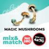 Magic Mushrooms Mix & Match
