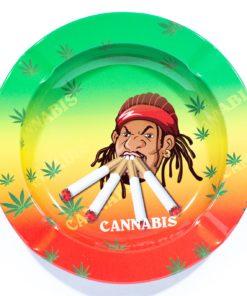 Cannabis Man Ashtray