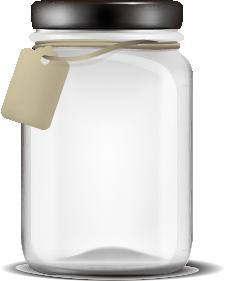 moon rocks jar