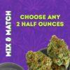 Mix & Match 2 half ounces