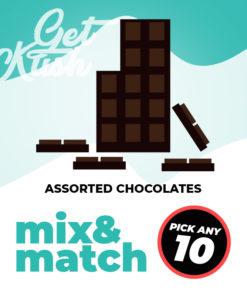 Assorted Chocolates – Mix & Match – Pick Any 10