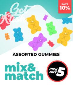 Assorted Gummies – Mix & Match – Pick Any 5
