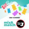 CBD Gummies - Mix & Match - Pick Any 3