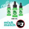 CBD Oil - Mix & Match - Pick Any 3