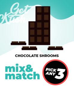 Chocolate Shrooms - Mix & Match - Pick Any 3